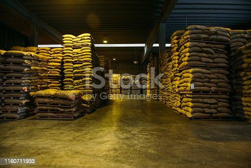istock Coffee Storage in Antwerp, Belgium 1160711933