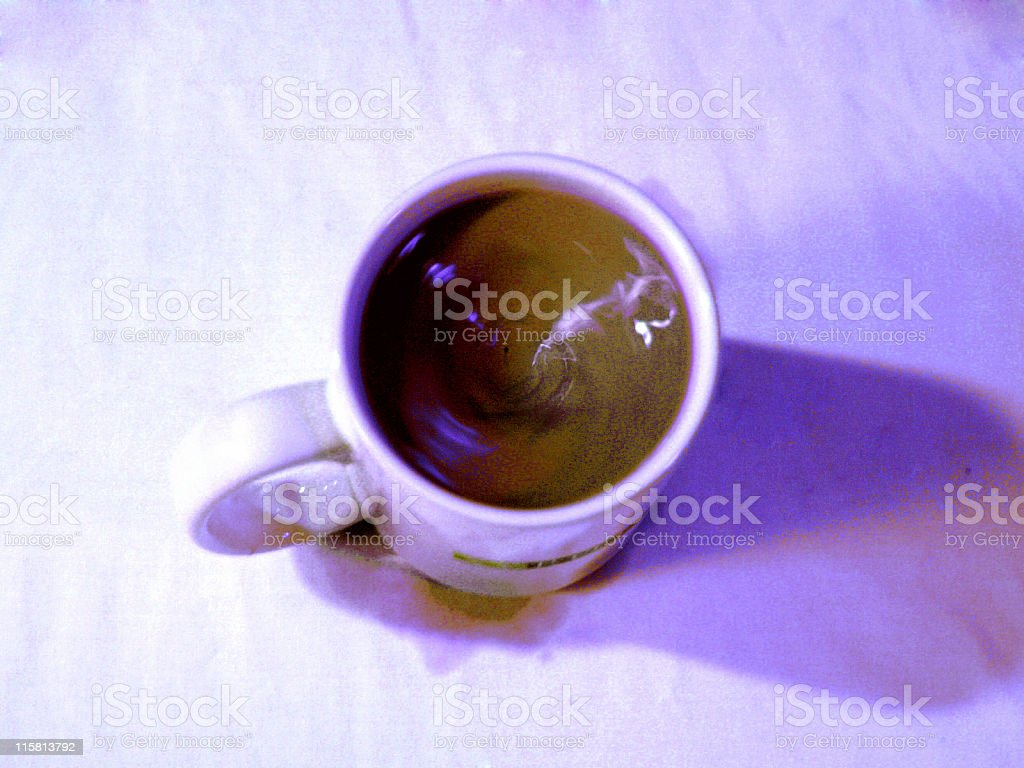 Coffee Swirl royalty-free stock photo