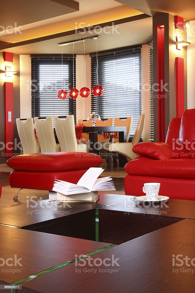 Coffee Table. royalty-free stock photo