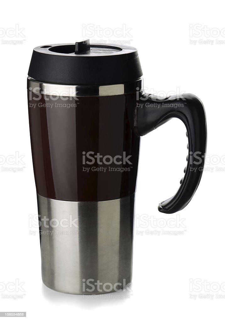 커피 보온병 mug royalty-free 스톡 사진