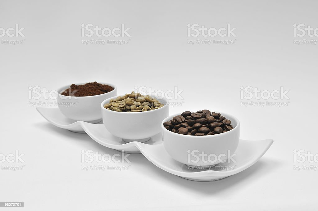Coffee - Three Times royalty-free stock photo