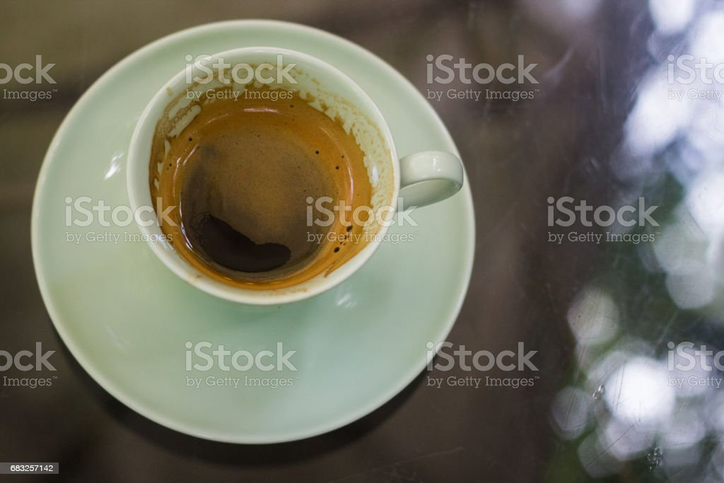 Coffee Time in the afternoon royalty-free stock photo