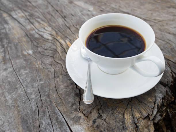 kaffee zeit  - schwarzer kaffee net stock-fotos und bilder