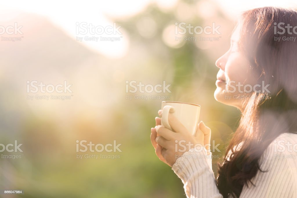 Coffee time . stock photo