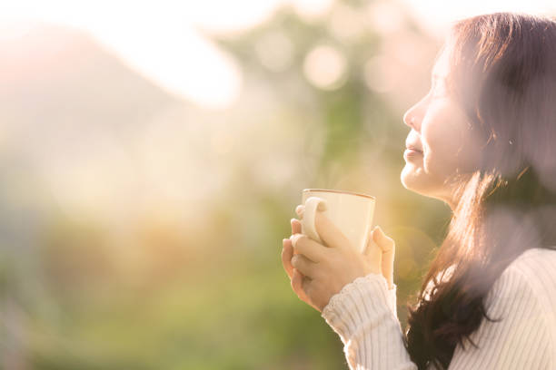 coffee time . - morning stock pictures, royalty-free photos & images