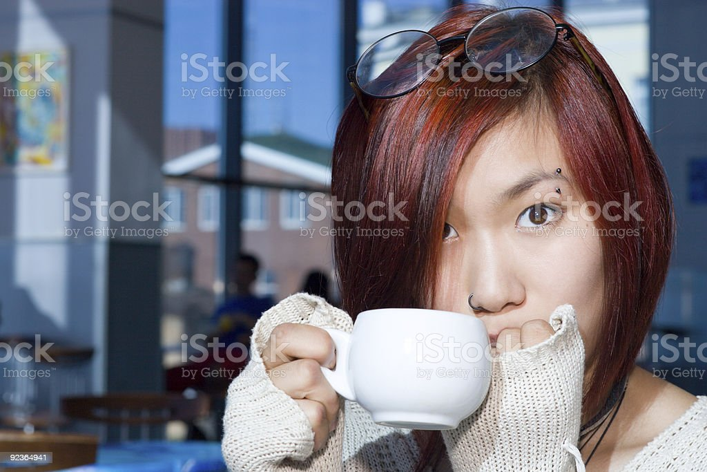 Coffee time. royalty-free stock photo