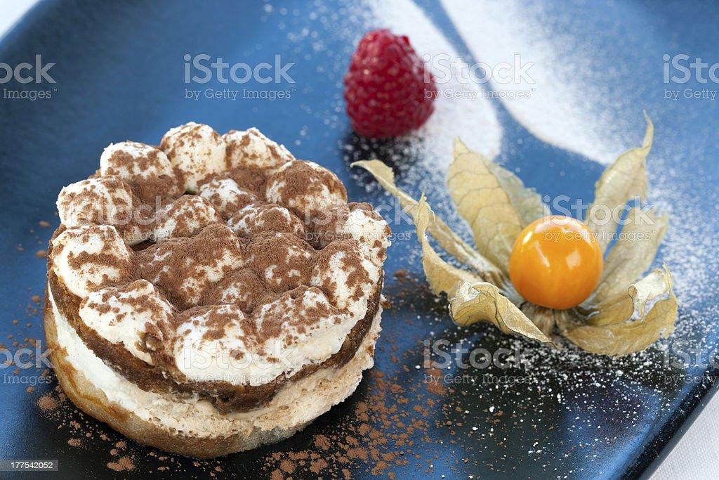 Coffee Titamisu dessert. royalty-free stock photo