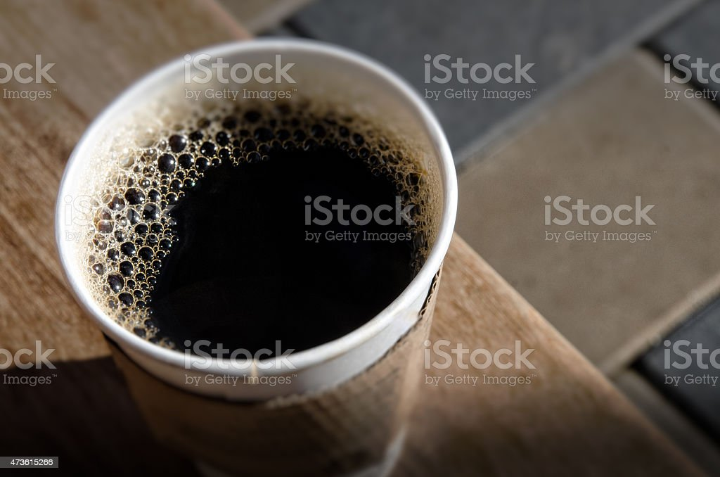 Coffee To Go Container stock photo