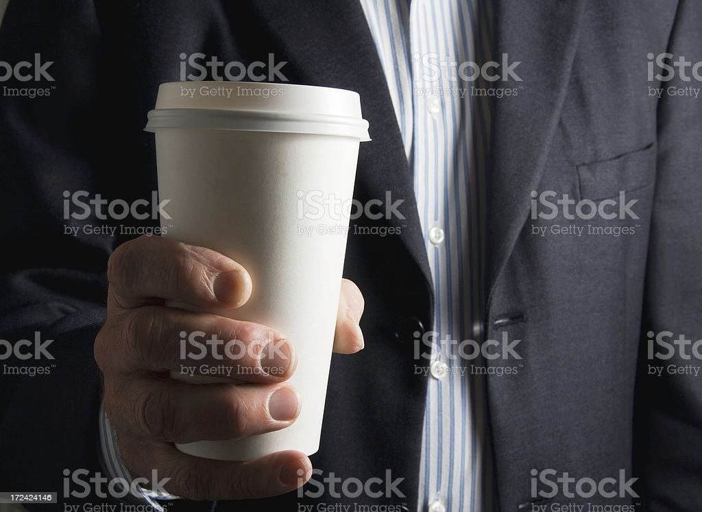 Coffee to Go royalty-free stock photo