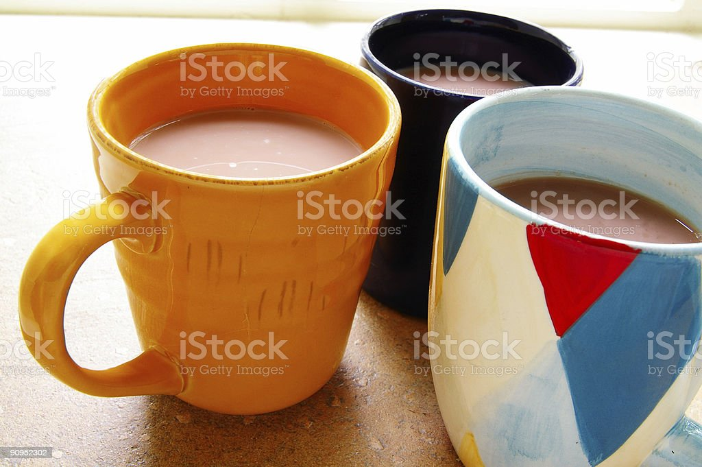 Coffee trio royalty-free stock photo