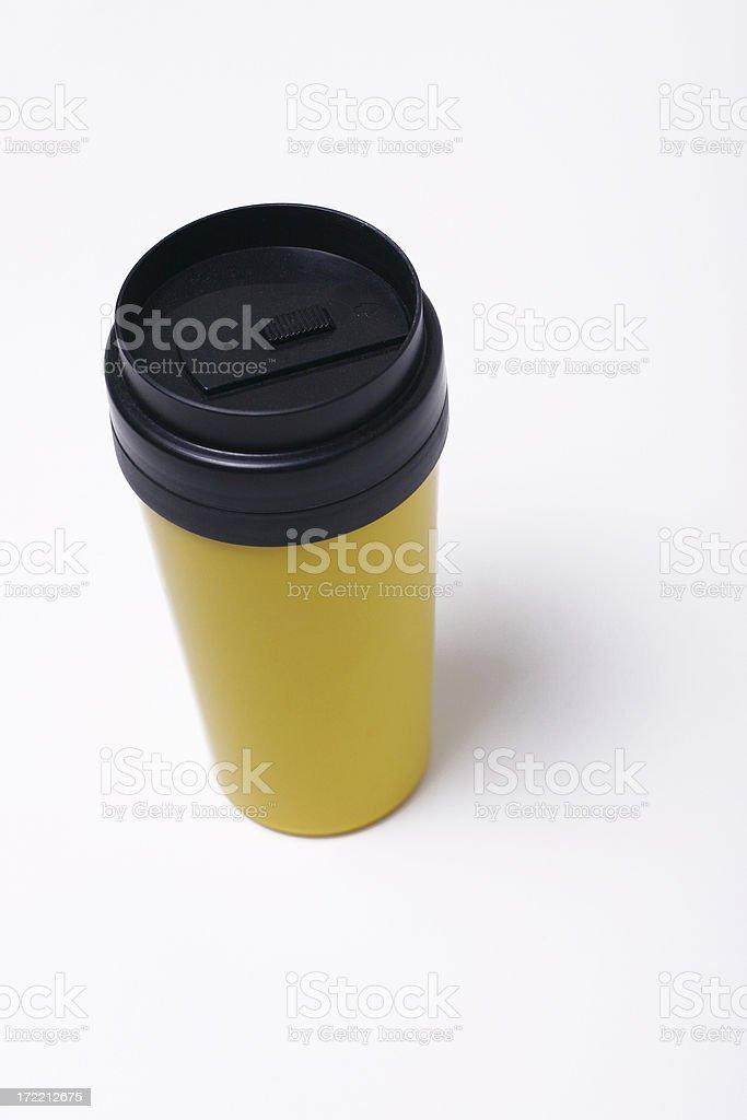 coffee tumbler royalty-free stock photo