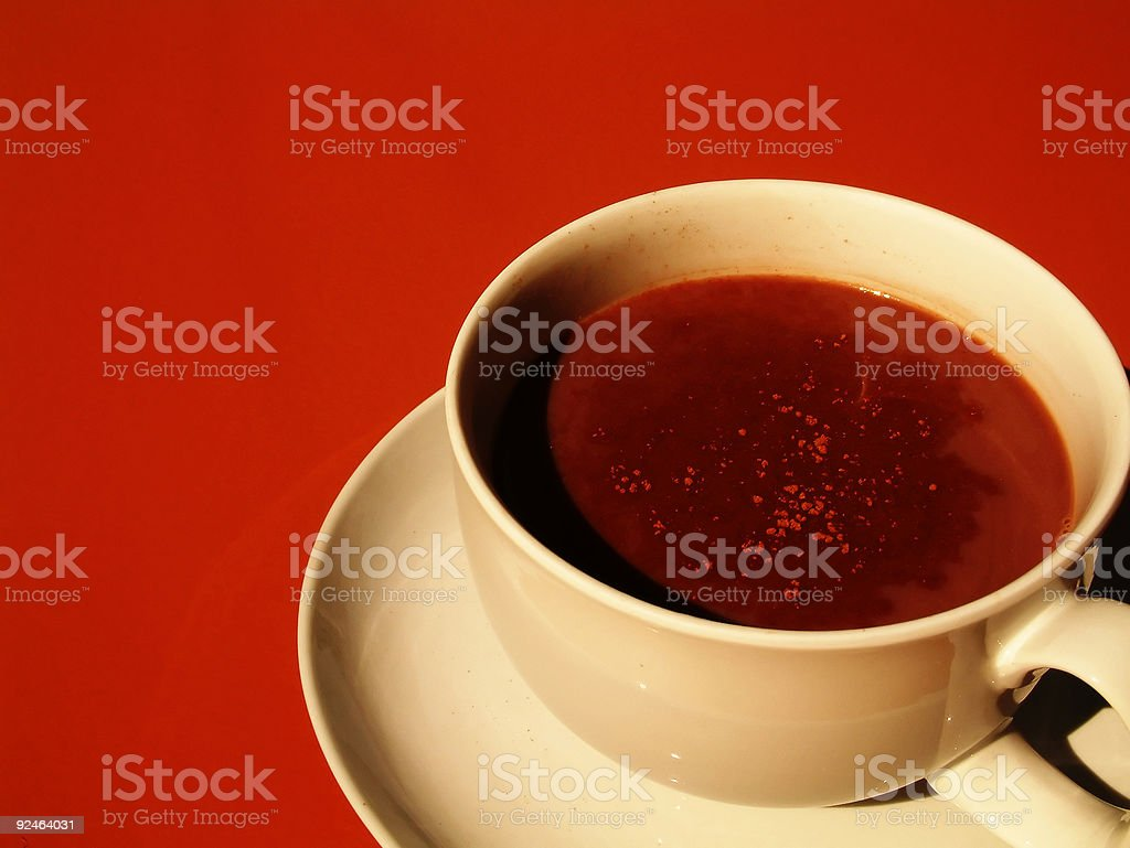coffee with cinnamon royalty-free stock photo