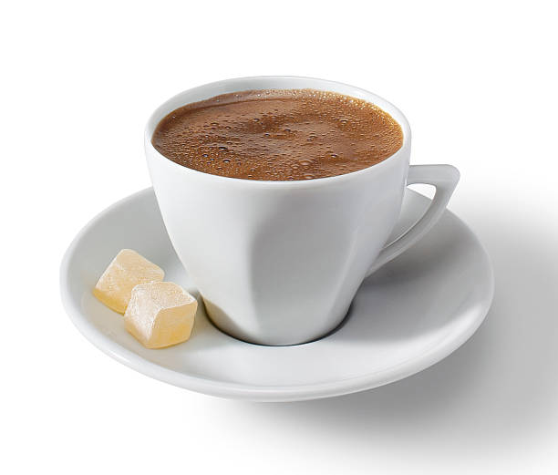 Coffee with clipping path stock photo