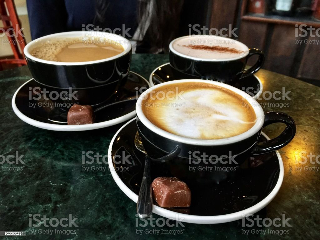 Coffee with Friends stock photo