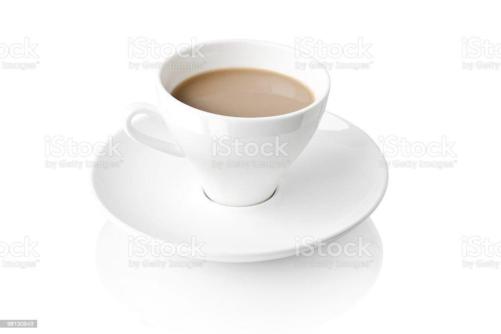 커피 우유관 royalty-free 스톡 사진