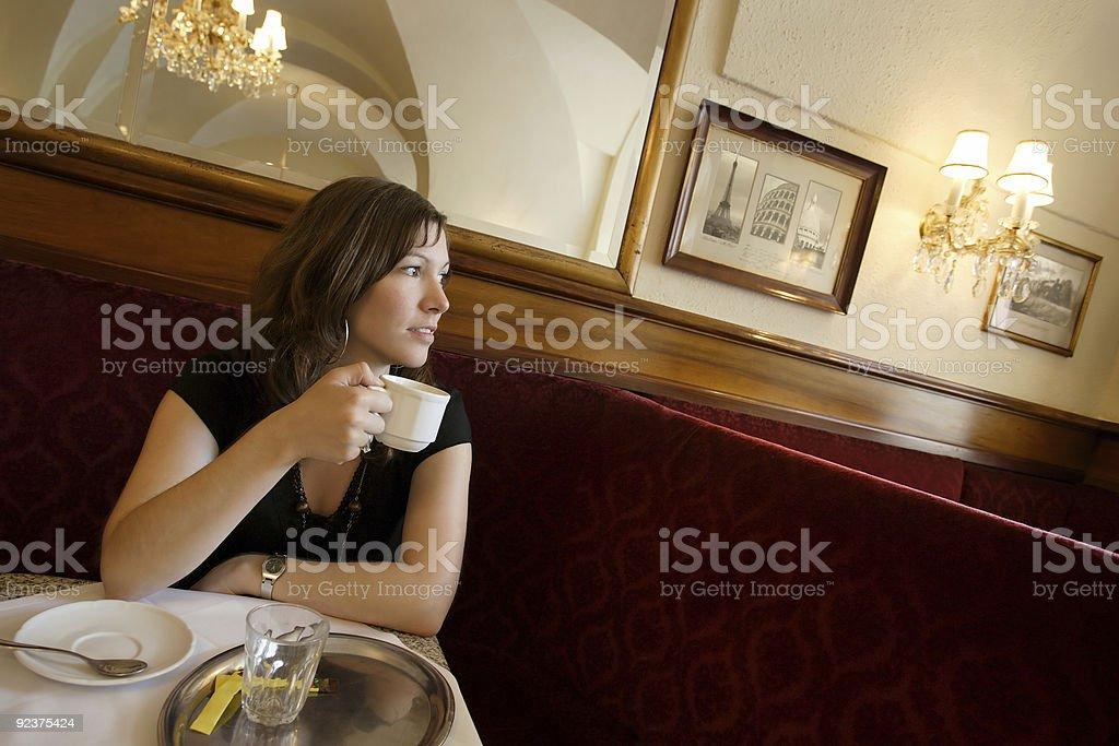 Coffeehouse royalty-free stock photo