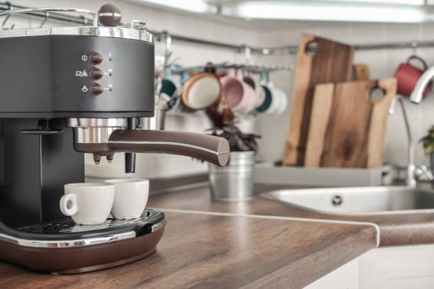 Kaffeemaschine mit 2 Tassen – Foto