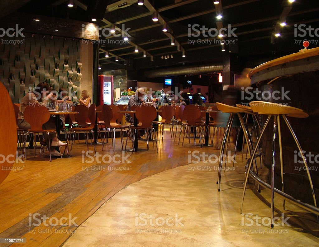 Coffee-shop interior royalty-free stock photo