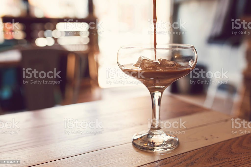 Coffee-Tale For Coffee Lovers stock photo