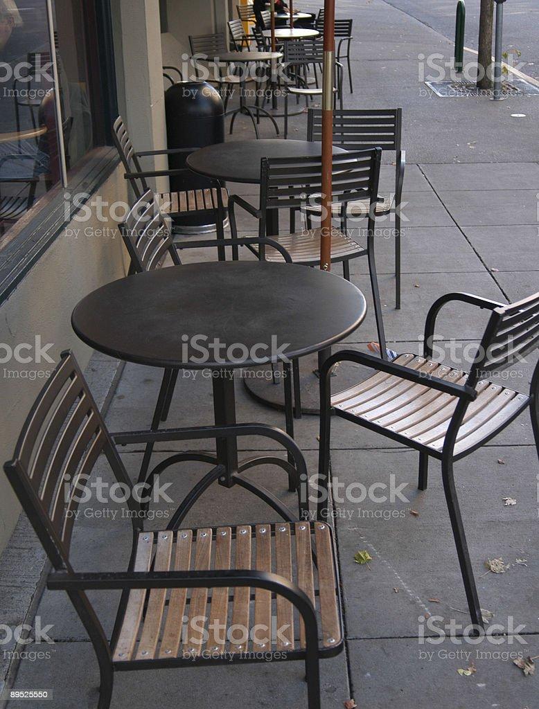 Coffie tabla foto de stock libre de derechos