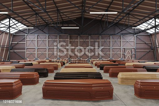 Coffins in Hangar