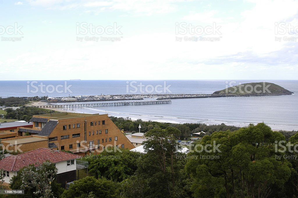 Coffs Harbour, New South Wales stock photo