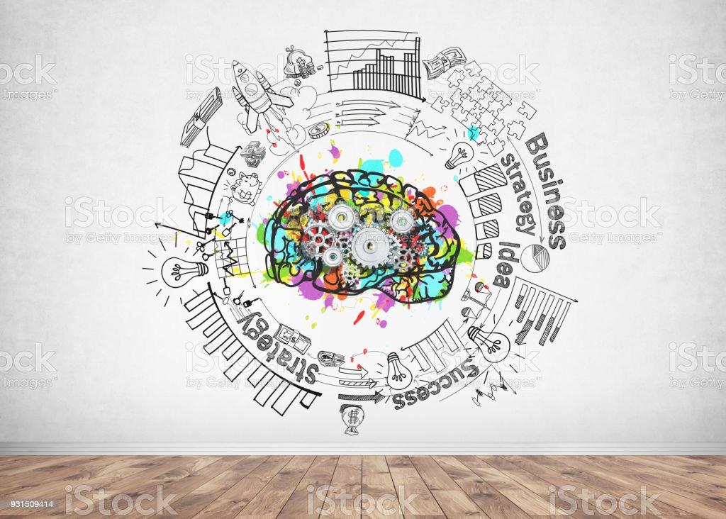 COG Gehirn und Business-Idee – Foto