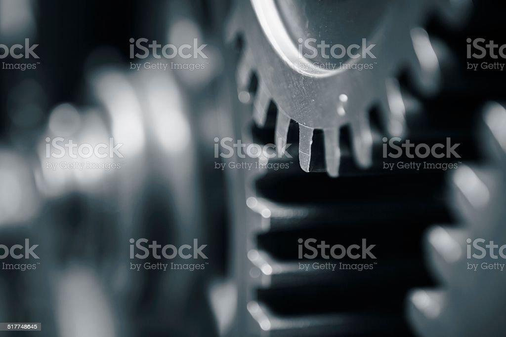 Cog wheels stock photo