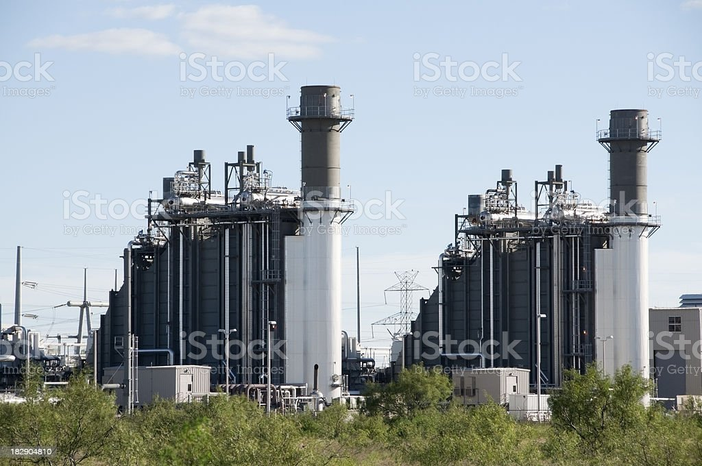 Cogeneration Units stock photo
