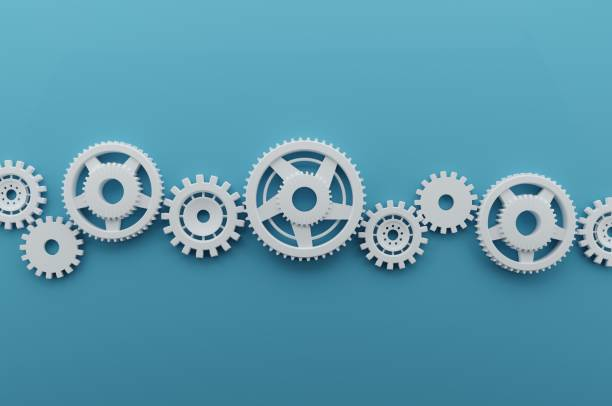 Coghwheel Mechanism stock photo