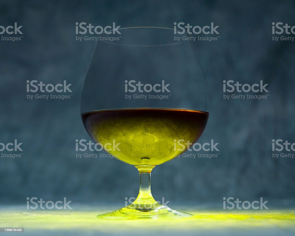Cognac Snifter royalty-free stock photo