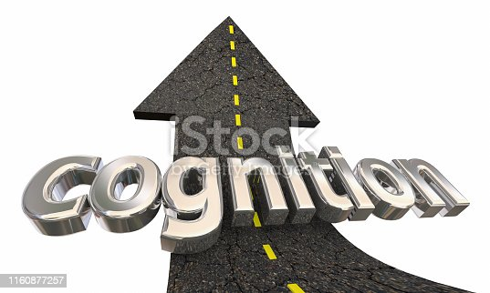 Cognition Learning Education Road Arrow Up Success 3d Illustration