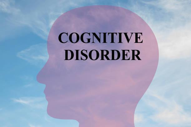 Cognitive Disorder mental concept stock photo