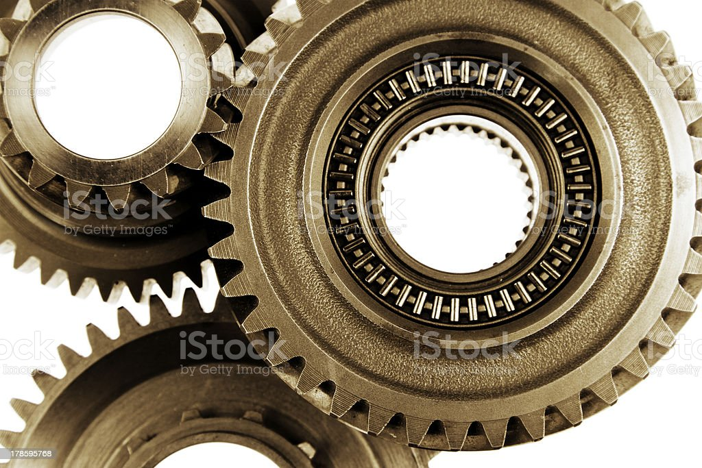 Cogs royalty-free stock photo