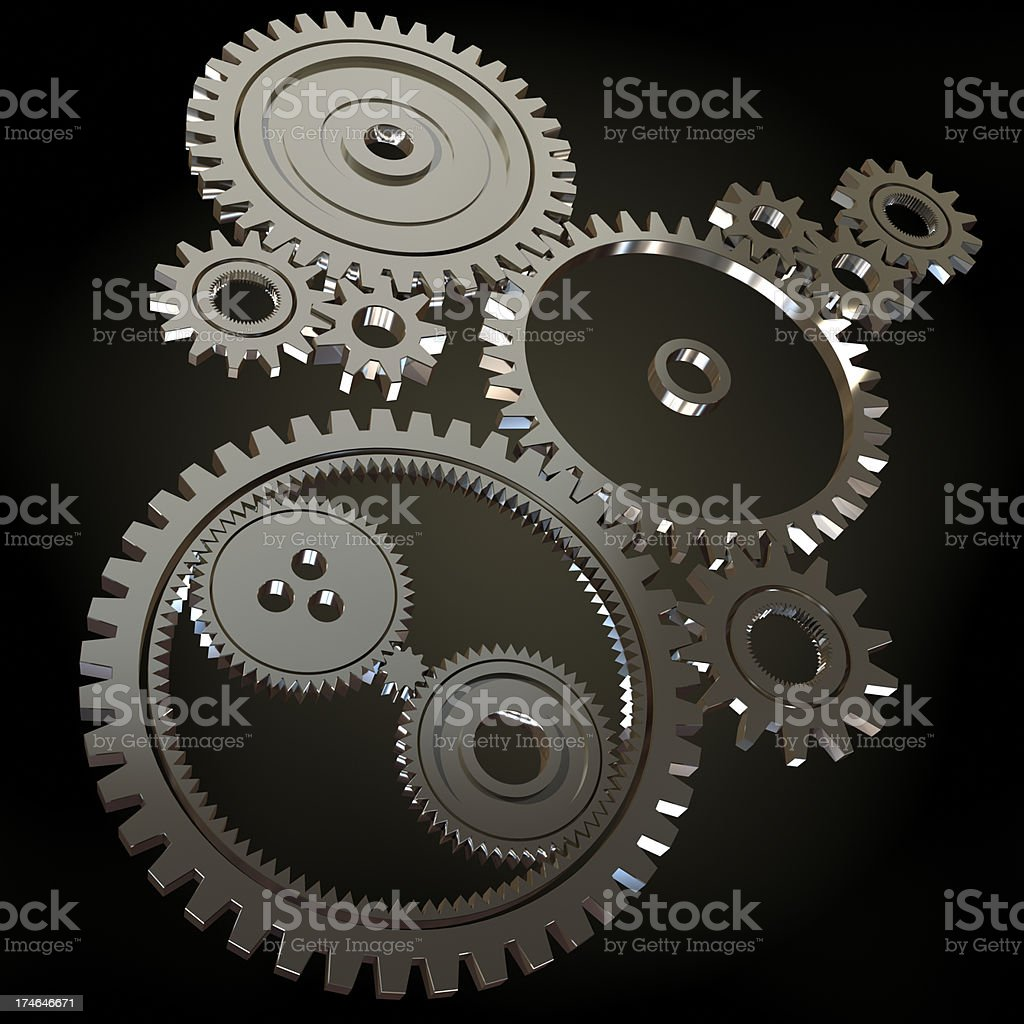 Cogwheels stock photo