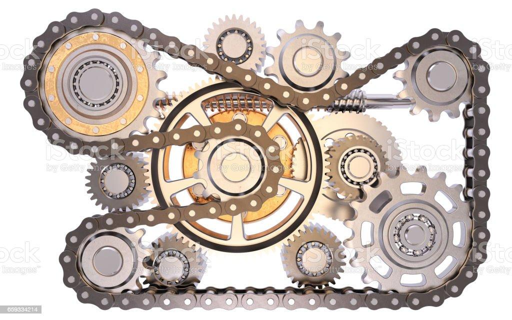 Cogwheels stock photo