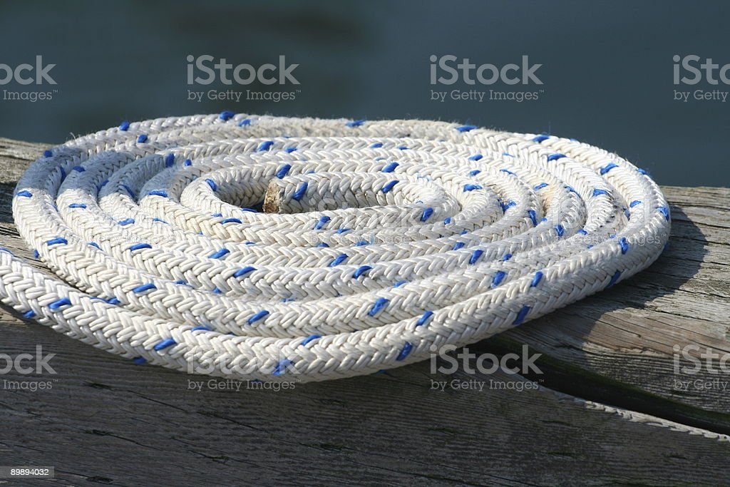 Coil Of Rope royalty-free stock photo