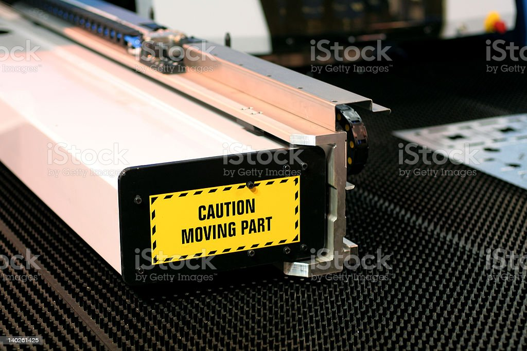 Coil stamping stock photo