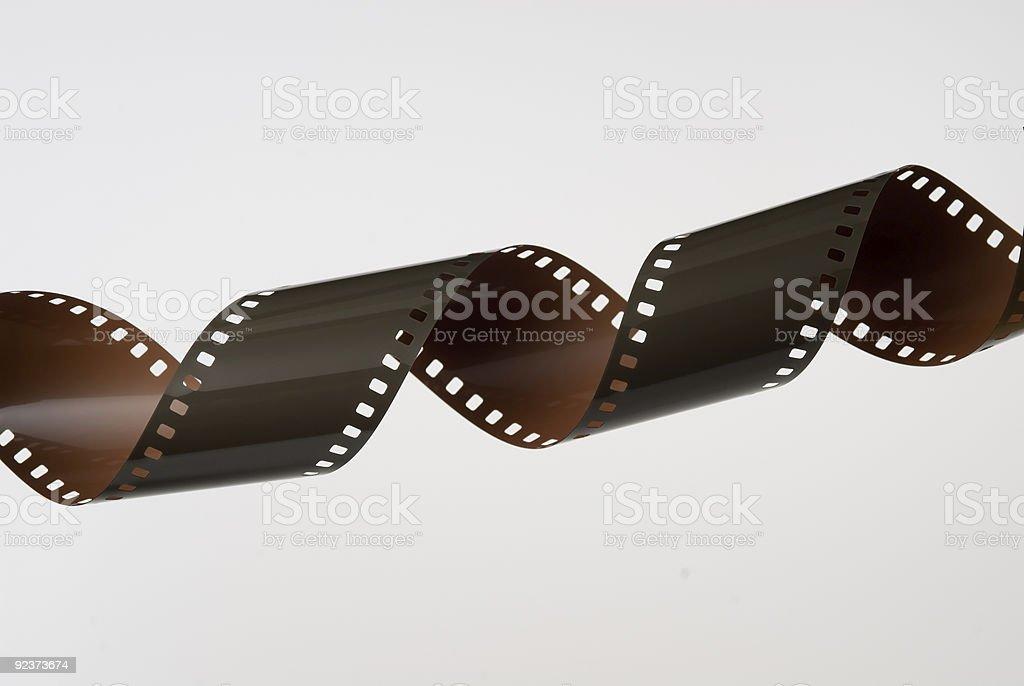 Verschlungenes 35-mm-film Lizenzfreies stock-foto