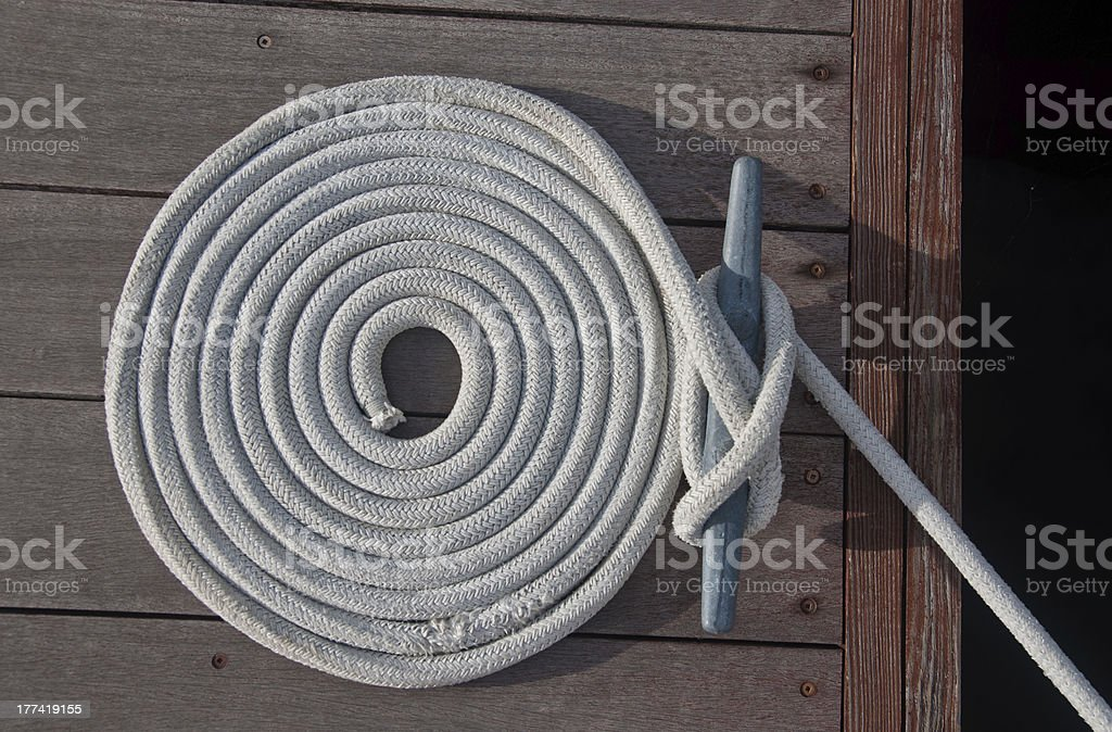Coiled Line stock photo