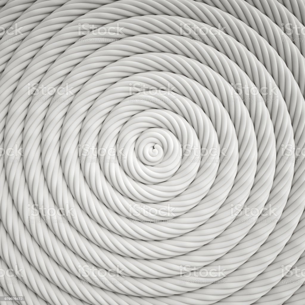 Coiled Nautical Line Background stock photo