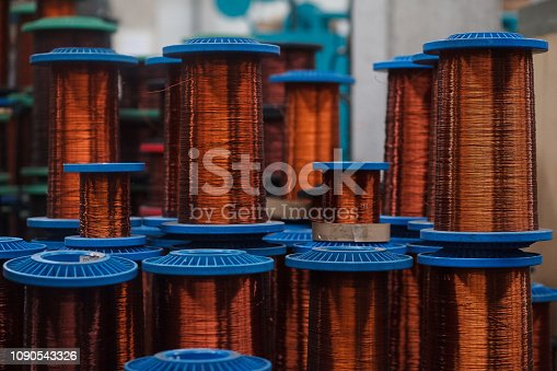 Cable, Wire, Copper, Telephone Line, Manufacturing