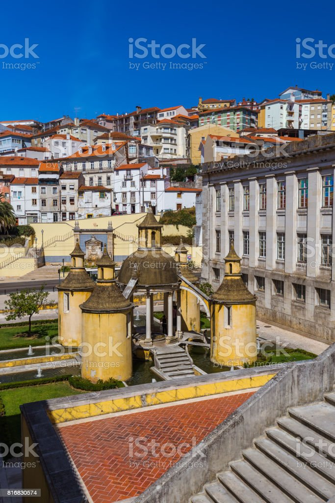 Coimbra old town - Portugal stock photo