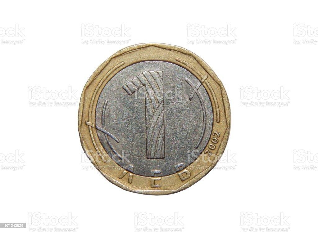 Münze 1 Lew Bulgarien Stock Fotografie Und Mehr Bilder Von Bank Istock