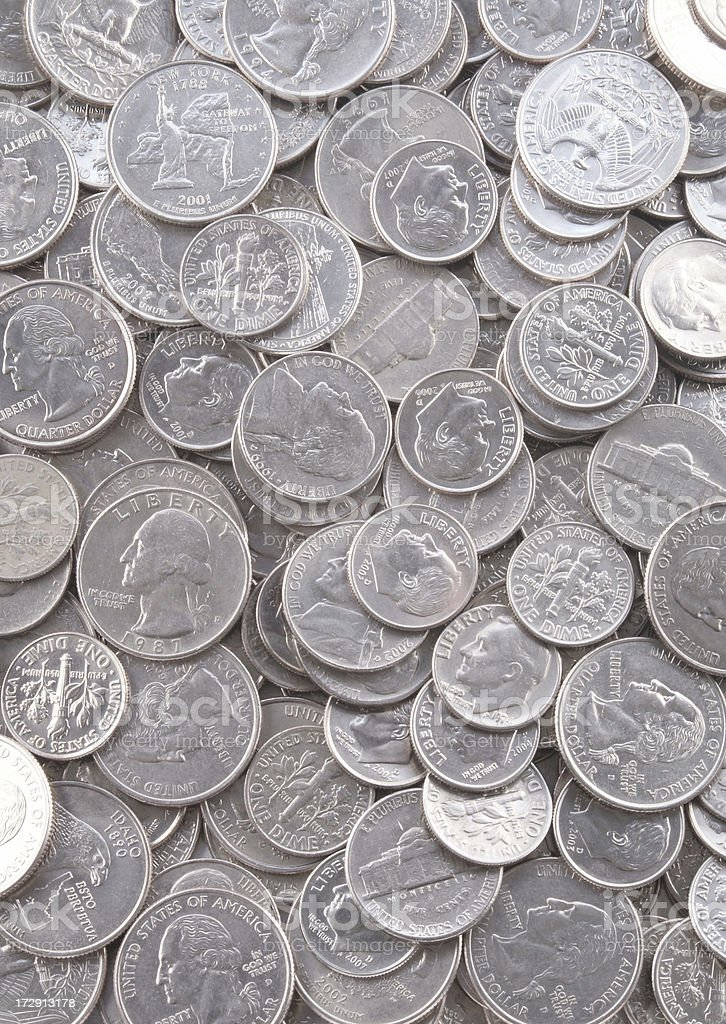 Coin Background royalty-free stock photo