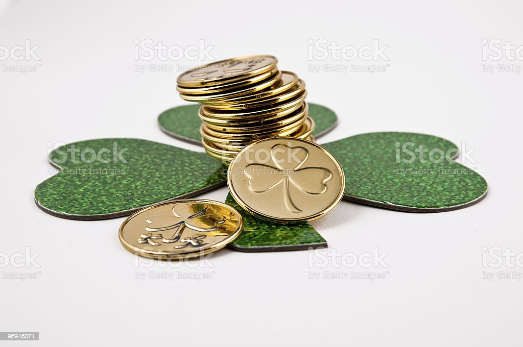 Coin decorations royalty-free stock photo