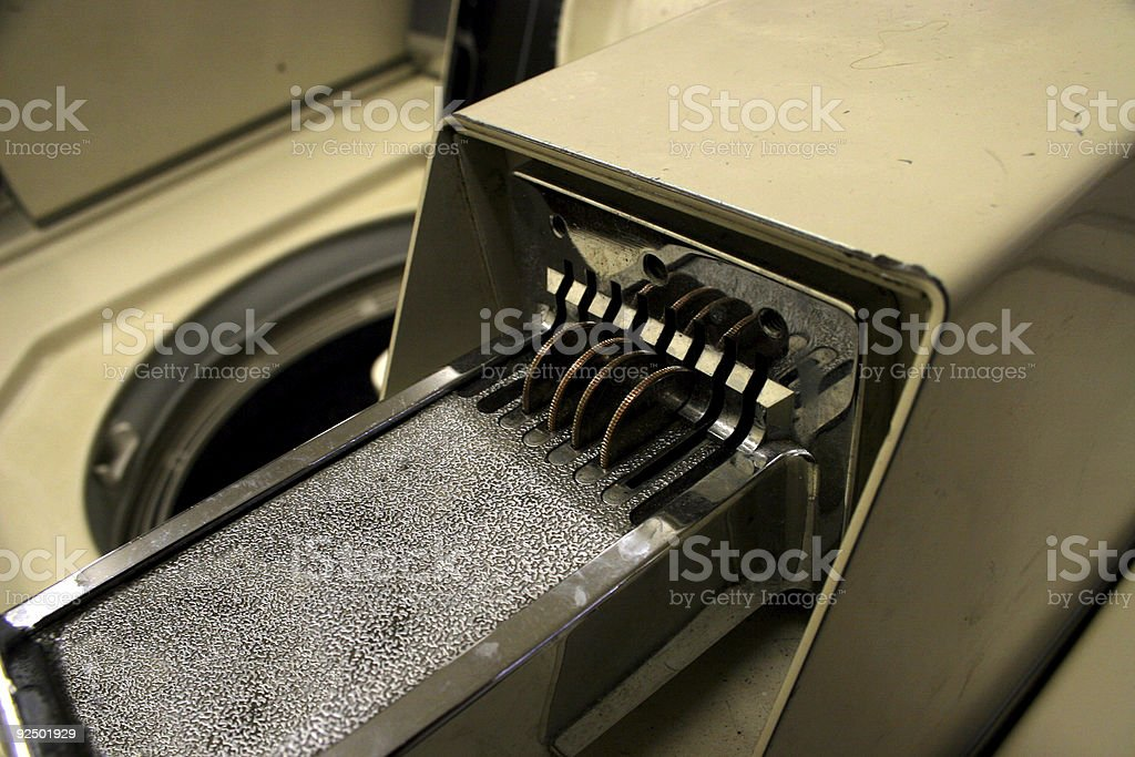 Coin Laundry royalty-free stock photo