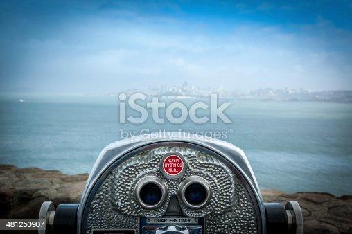 istock Coin operated binoculars 481250907