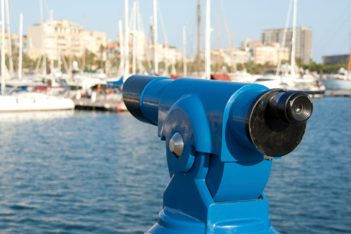 Coin Operated Monocular in Barcelona