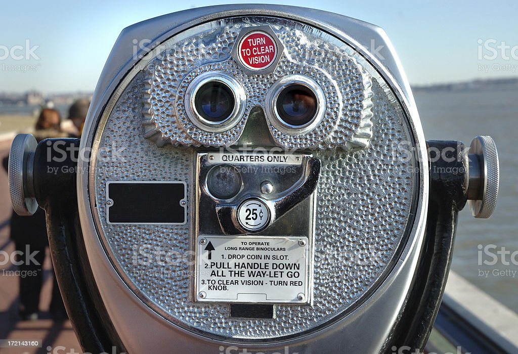 Coin Operated Viewfinder royalty-free stock photo